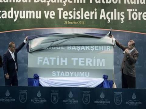Başakşehir Fatih Terim Stadı hizmete açıldı!