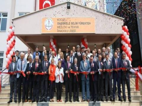 Kocaeli'de 3 yeni okul hizmete açıldı!