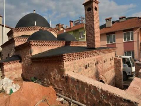 Bursa'daki Yakup Bey Hamamı'nın restorasyon çalışmaları devam ediyor!