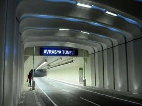 Avrasya Tüneli sigortalandı!