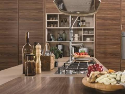 Vanucci Citrino minimalist ve şık mutfakları ile dikkat çekiyor!