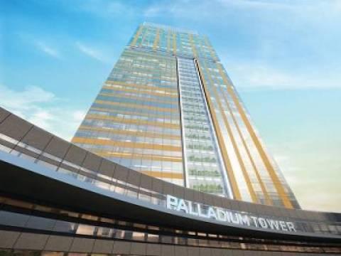Palladium Tower kiracılarını bekliyor