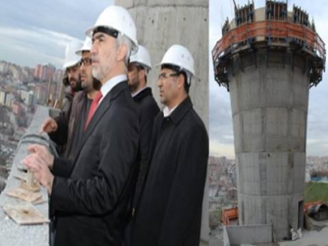 Kağıthane'ye 360 derece döner kule yapılıyor!