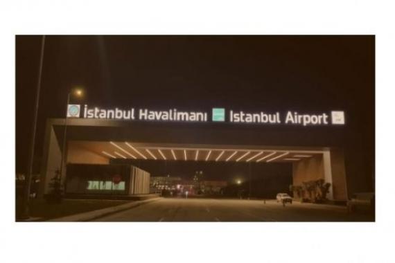 3. Havalimanı'na tabelası takıldı!