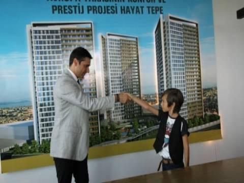Emir Berke Zincidi Hayat Tepe'deki evini teslim aldı!