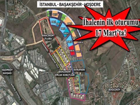 Emlak Konut Başakşehir Hoşdere 4.etap arsa ihalesi iki oturumda yapılacak!