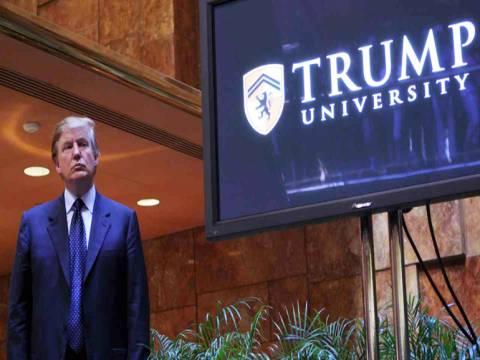 Trump Üniversite'si davasında uzlaşmaya gidildi!