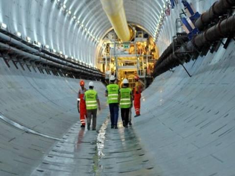 Avrasya Tüneli Projesi'nin inşaat görüntüleri!