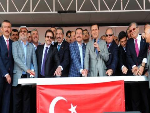 Ankara Fuar Alanı ve Kongre Merkezi'nin temel atma töreni gerçekleşti!