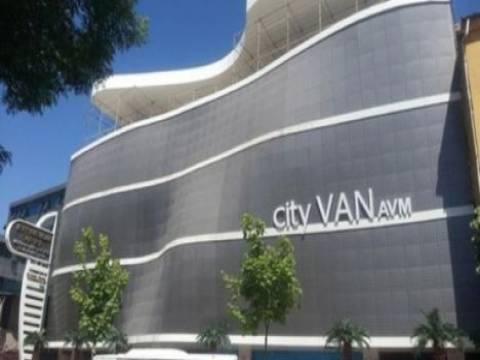 City Van AVM'deki 77 adet işyeri ve otopark kiralanacak!