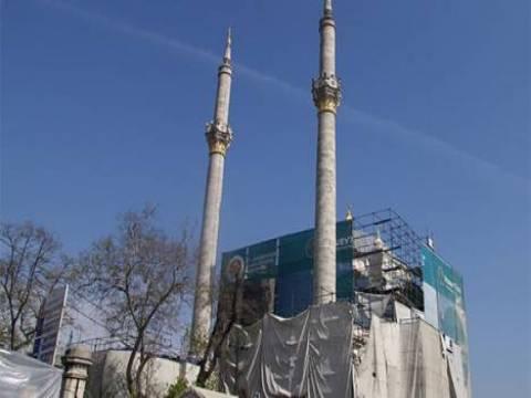 Mecidiye Camii'nin restorasyon çalışmaları tamamlandı!