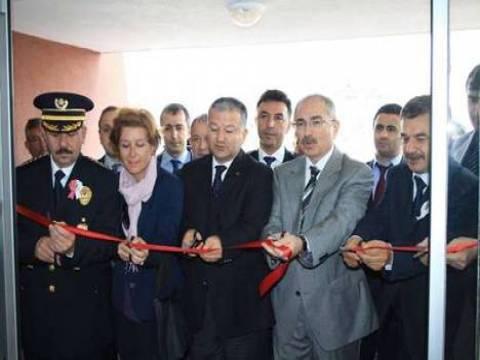 Vize İlçe Emniyet Müdürlüğü'nün yeni binası törenle hizmete açıldı!