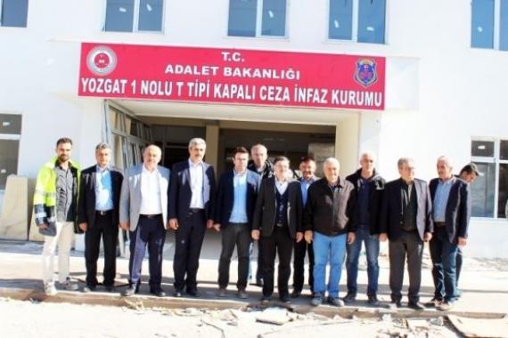 Yozgat cezaevi inşaatı incelendi!