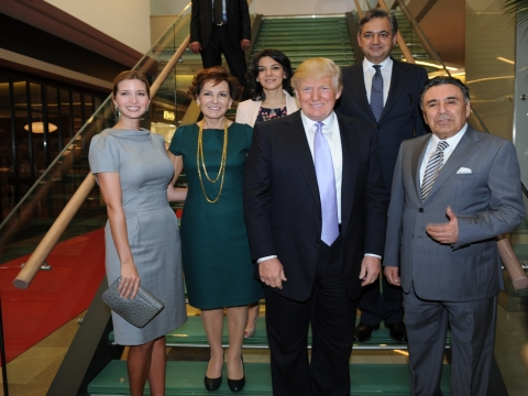 Trump Towers Mall, ilk gününe Donald Trump ve Ivanka Trump ile günaydın dedi!