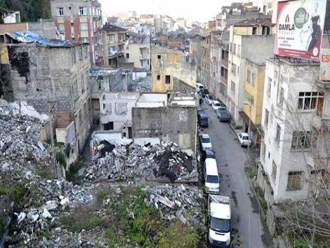Trabzon Tabakhane'de dönüşüm kapsamında 523 bina yıkıldı!