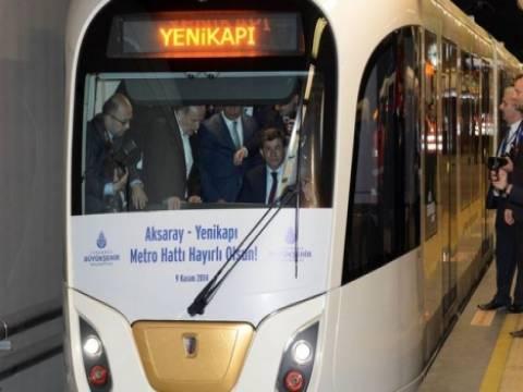 Yenikapı-İncirli metro hattı devredildi!