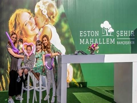 Eston Şehir Mahallem anneler için hazırladığı etkinlikle mutlu etti!