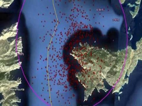Bodrum'da yılbaşından bu yana 1078 deprem meydana geldi!