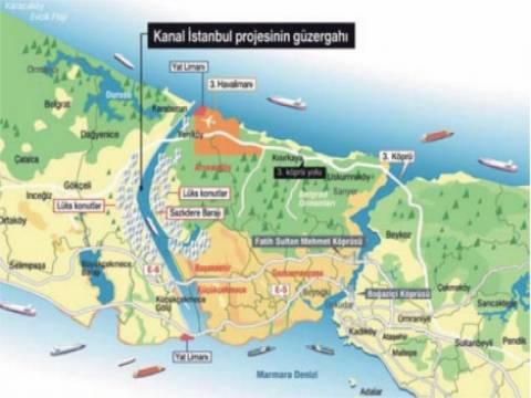Kanal İstanbul'un güzergahı kesinleşti!