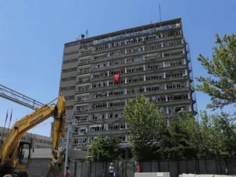 Ankara Emniyet Müdürlüğü yıkılacak!