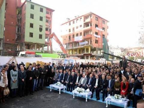 Bağcılar Kirazlı Mahallesi'ndeki 92 daireli 9 bina yıkıldı!