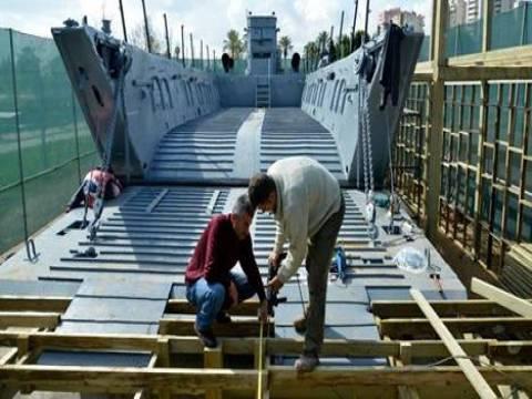 Adana'da çıkarma gemisi müze olacak!