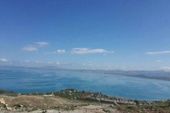 Edremit'te göl çekilince tapulu araziler görüldü!