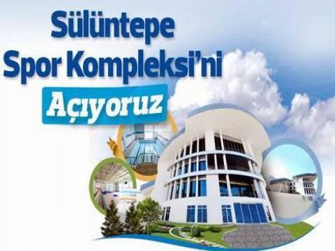Pendik Sülüntepe Spor Kompleksi bugün açılıyor!