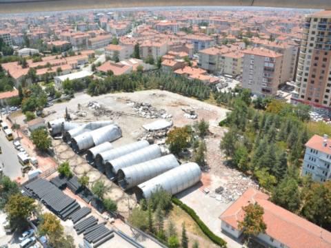 Aksaray'da icradan satılık arsa! 3.7 milyon TL'ye!
