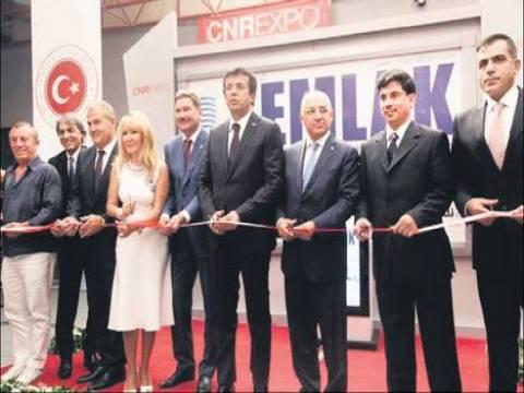 Emlak sektörünün dev projeleri CNR'da sergileniyor!