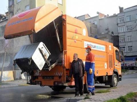 Bağcılar'da 545 kişilik ekiple her gün 700 ton çöp toplanıyor!