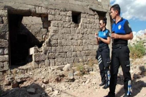 Kayseri'de 344 metruk yapının yıkımı gerçekleştirildi!
