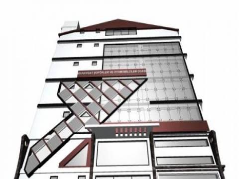 Manavgat Şoförler Odasına modern hizmet binası inşa ediliyor!