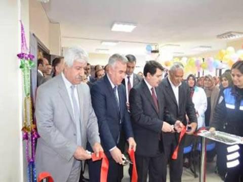 Malatya Melekbaba Semt Kütüphanesi törenle açıldı!