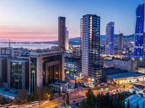 İzmir Ater Tower Ofisleri 502 bin TL'den satışa çıktı! Yeni Proje!
