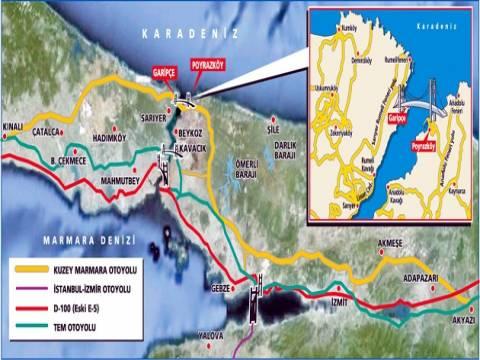 Kuzey Marmara Otoyolu'nda kamulaştırma kararı çıktı!