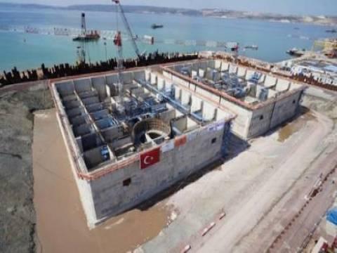 İzmit Körfez Geçişi Asma Köprüsü'nün inşaatı hızla ilerliyor!