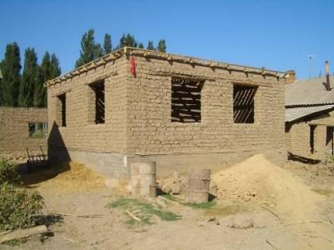 Ağrı Doğubayazıt'taki kerpiç evler turizme kazandırılacak!