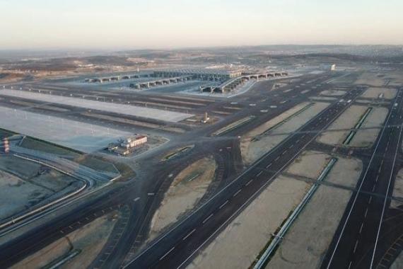 İstanbul Yeni Havalimanı'dan son görüntüler!
