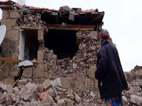 Çanakkale Ayvacık'ta bin 8 yapı hasarlı tespit edildi!