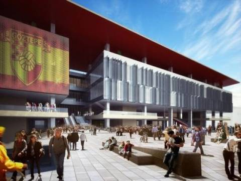 İzmir Göztepe Stadyumu inşaat ihalesi 31 Mart'ta yapılacak!