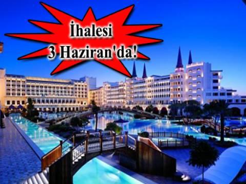 Mardan Palace Hotel 719.7 milyon TL'den satılıyor!