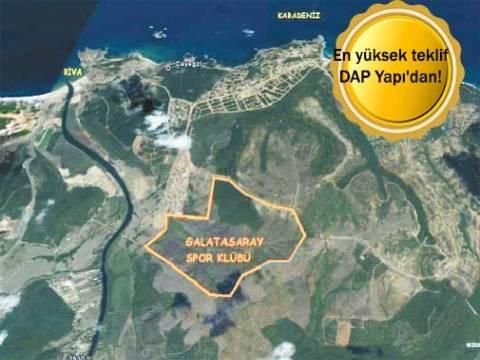 Galatasaray Riva arazisi ihalesi yapıldı!
