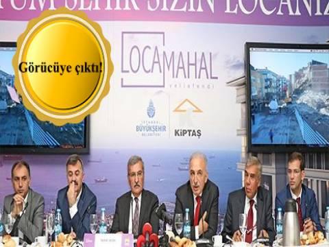 KİPTAŞ Loca Mahal metrekaresi 5 bin 750 TL'ye satışta!