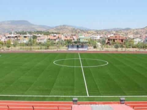 İzmir Erdal İnönü Stadı'nın zemin çalışması tamamlandı!