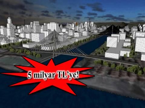 Kanal İstanbul'a 6 ayrı köprü yapılacak!
