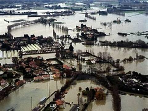 Fransa şiddetli yağmurun etkisi altında!