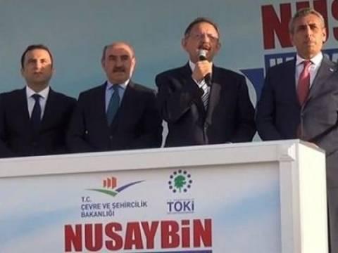 Nusaybin'de 4 bin 600 konutun temel atma töreni yapıldı!