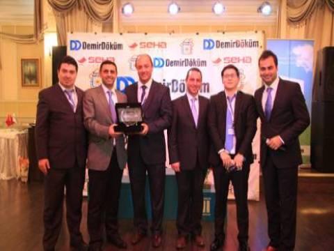 DemirDöküm Kazakistan'da ödüllü kombi Atron'u tanıttı!