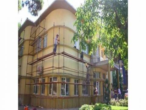 Manisa Belediye binasında restorasyon devam ediyor!